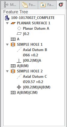 Árvores de funções no Creo 4.0