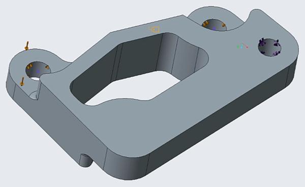 Creo Simulate Flexible Modeling remove hole