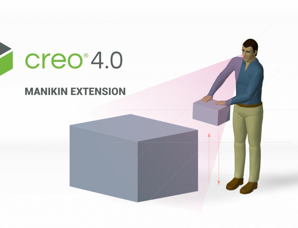 Creo Manikin Extension – Manipulação e Análises Ergonómicas