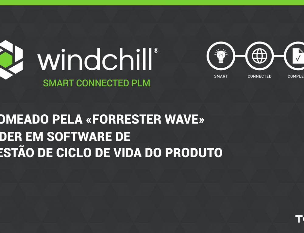 Windchill é líder em Software de Gestão de Ciclo de Vida do Produto