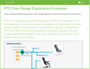 Creo Design Exploration Extension (DEX)
