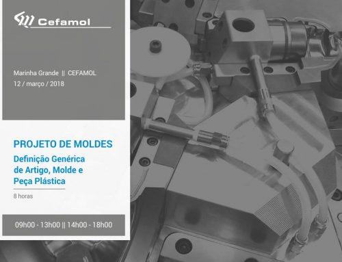A CEFAMOL em parceria com a TCA , promove formação em Projeto de Moldes