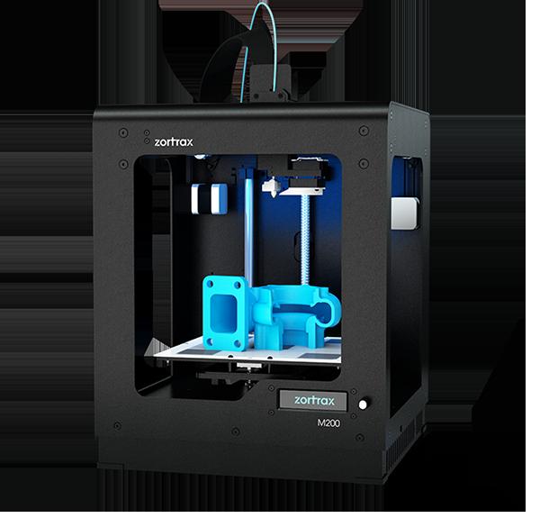 Impressão 3D Zortrax