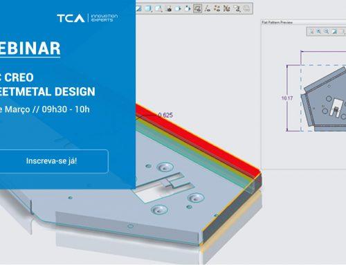 Webinar PTC Creo Sheetmetal Design