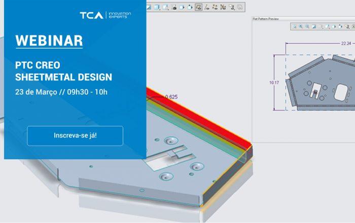 Webinar PTC Creo Sheetmetal