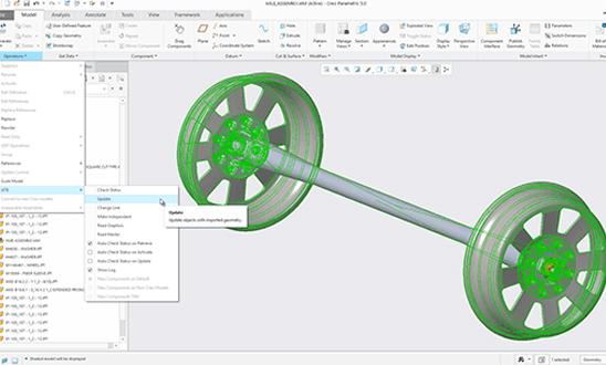 PTC Creo 5.0 Unite Autodesk Inventor