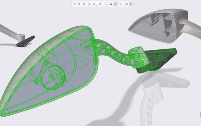 Desenhar em perspetiva no PTC Creo 5.0