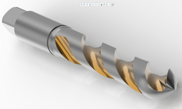PTC Creo 5.0 Helical Sweep Tool