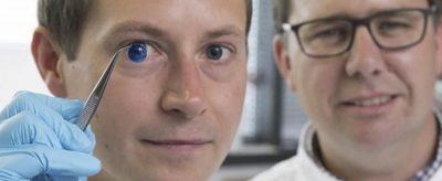 Cornea impressa em 3D