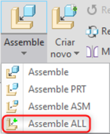 Mapkey PTC Creo Assemble All