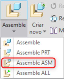 Mapkey PTC Creo Assemble Assembly