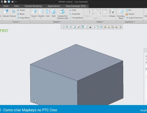 Tutorial – Como criar Mapkeys no PTC Creo
