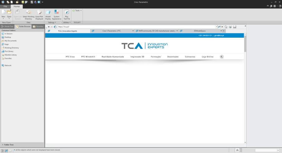 Guia de Instalação do PTC Creo Parametric