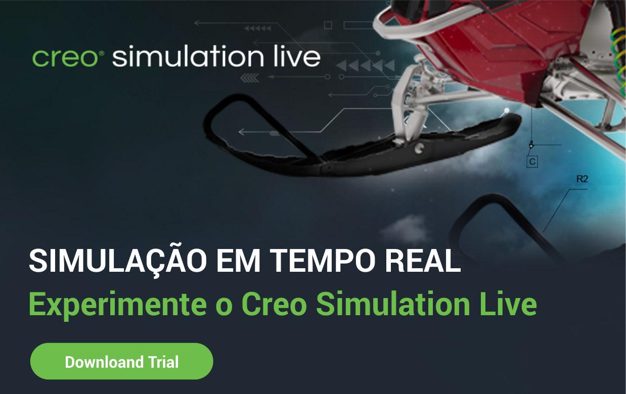 Simulação em tempo real – Creo Simulation Live