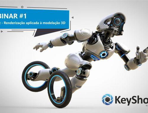 Webinar KeyShot – Renderização aplicada à modelação 3D