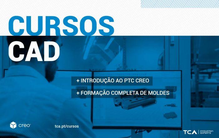 Cursos de formação CAD - Introdução PTC Creo Formação Completa de moldes