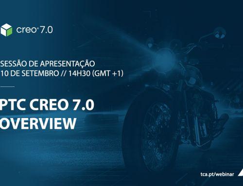Sessão de apresentação Creo 7.0 – Overview