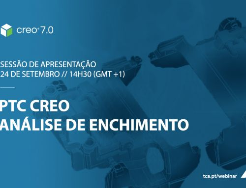 Sessão de apresentação Creo 7.0 – Análise de Enchimento