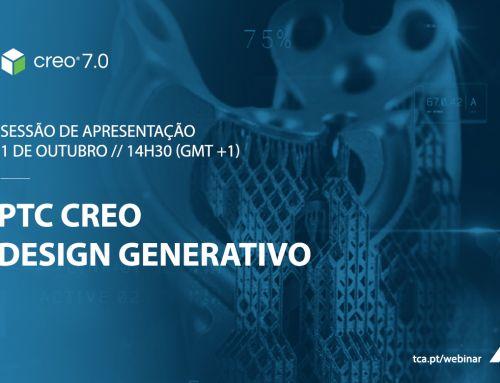 Sessão de apresentação Creo 7.0 – Design Generativo